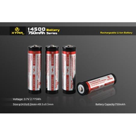 Batería 14500 Xtar