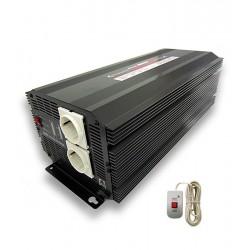 Inversor 2500W 24V/220V +...