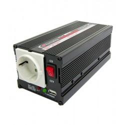 Inversor 400W 12V/220V + conector USB
