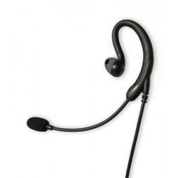 Micro-auricular tipo boom Komunica Bidireccional NOISE CANCELLING. Compatible Motorola 2P