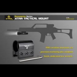 Soporte Rifle Aluminio de carril